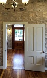 Inside w doors