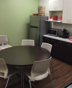 MOB breakroom