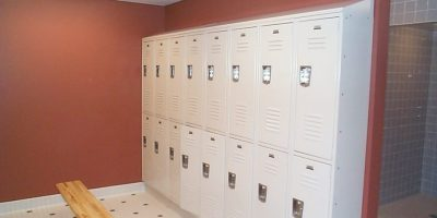 4. lockers